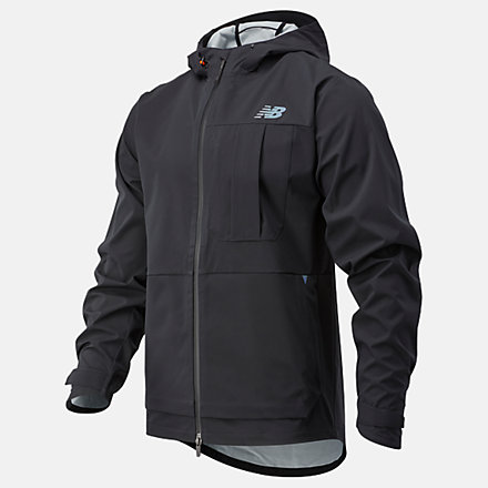 New Balance Q Speed Defy Jacket, MJ03267BK image number null