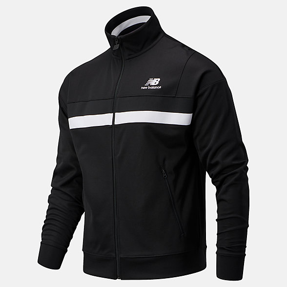 NB Chaqueta NB Athletics Podium Track, MJ03501BK