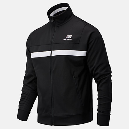 New Balance NB Athletics Podium Track Jacket, MJ03501BK image number null