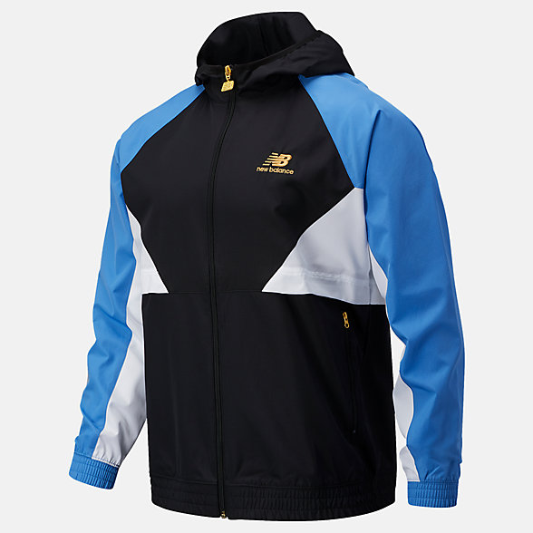 NB NB Athletics Podium Windbreaker, MJ03502FCB