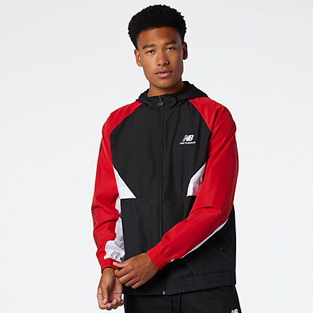 New Balance NB Athletics Podium Windbreaker, MJ03502REP image number null