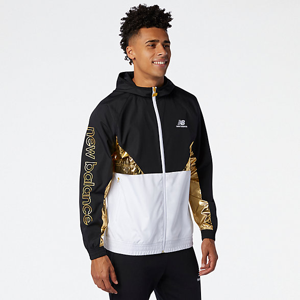 NB NB Athletics Podium Windbreaker, MJ03502WM