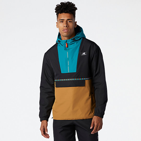 NB NB Athletics Terrain Anorak Jacket, MJ03514WWK