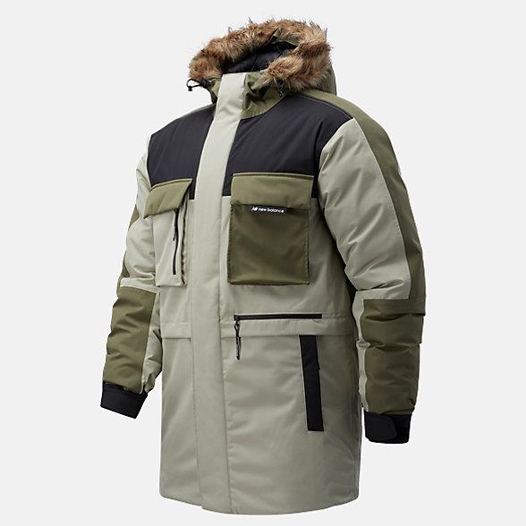NB Sport Style Down Parka Jacket, MJ03515GOK