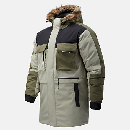 NB Sport Style Down Parka, MJ03515GOK image number null