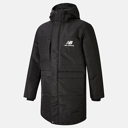 NB NB Athletics Terrain Long Insulated Jacket, MJ03522BK image number null