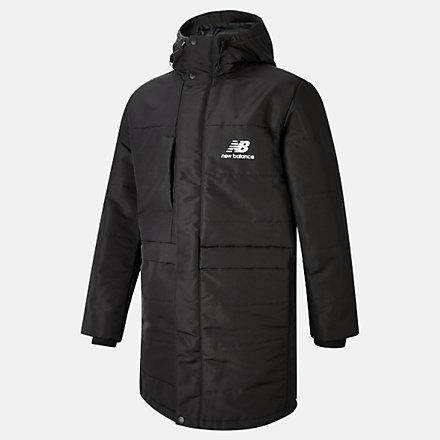 NB NB Athletics Terrain Long Insulated Jacket, MJ03522BK image number null