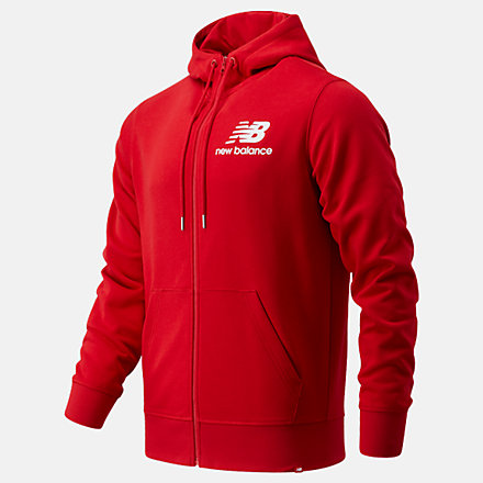 NB Sweats à capuche NB Essentials Stacked Full Zip, MJ03558REP image number null