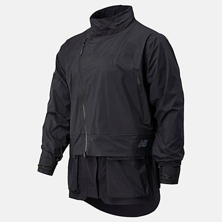 New Balance SPEEDRIFT Waterproof Jacket, MJ03905BK image number null