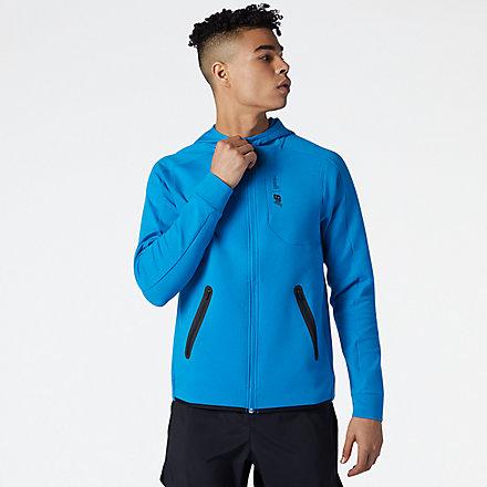 New Balance Fortitech Fleece Full Zip, MJ11178WBH image number null
