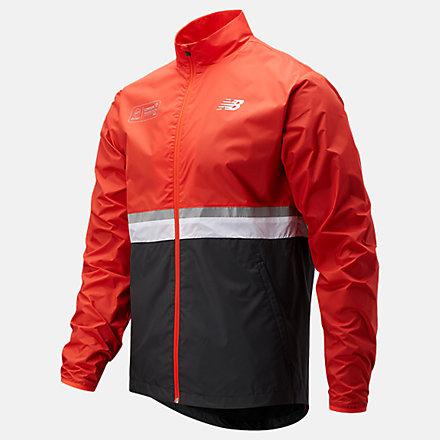NB London Marathon Jacket, MJ11200DGHP image number null