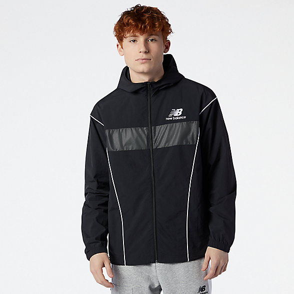 NB NB Athletics Windbreaker, MJ11500BK