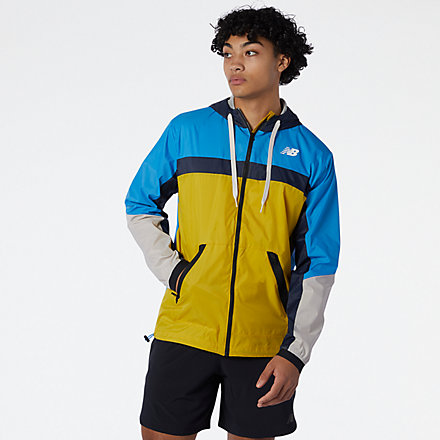 New Balance R.W.T. Lightweight Woven Jacket, MJ13044HGD image number null