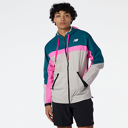 NB R.W.T. Lightweight Woven Jacket, MJ13044MTL image number null