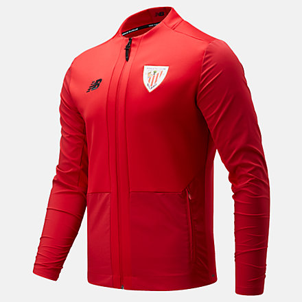 New Balance Athletic Club Pre-Game Jacket, MJ131013TRE image number null