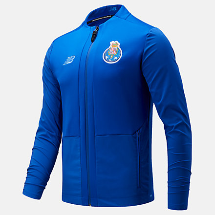 New Balance Fc Porto Pre-Game Jacket, MJ131063STW image number null