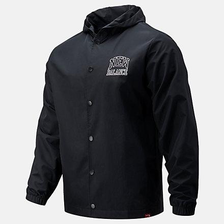 New Balance NB Sport Fashion Jacket, MJ13900BK image number null