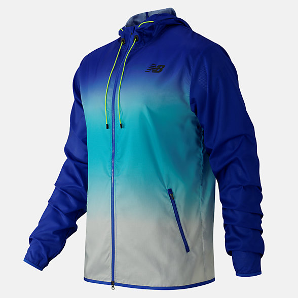 New Balance Windcheater Hybrid Jacket, MJ61041PC