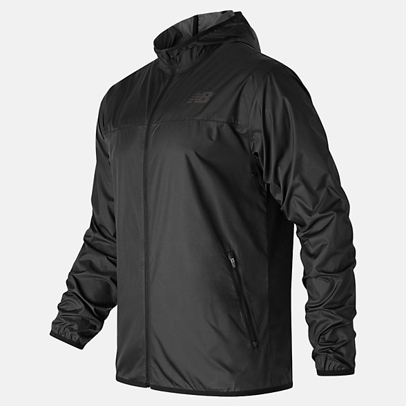 New Balance Windcheater Jacket, MJ63042BK