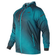 New Balance Windcheater Hybrid, Deep Ozone Blue with Supercell