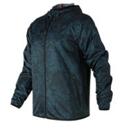 New Balance Windcheater Jacket, Supercell Print with Tornado