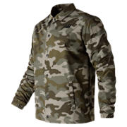 NB Classic Coaches Jacket, Camo Green