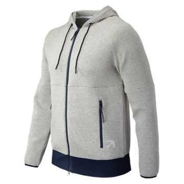 New Balance J.Crew Sport Style Full Zip, Athletic Grey