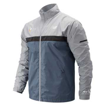 New Balance NYC Marathon Windcheater Jacket, Chambray