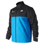 New Balance NYC Marathon Windcheater Jacket, Laser Blue