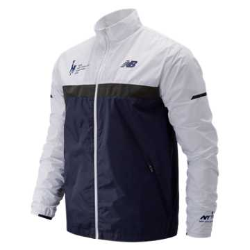 New Balance NYC Marathon Windcheater Jacket, Pigment