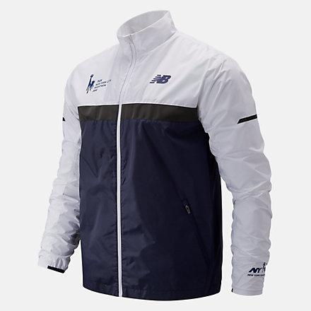 New Balance NYC Marathon Windcheater Jacket, MJ73210MPGM image number null