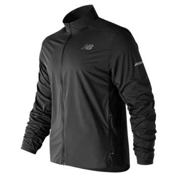 New Balance Speed Run Jacket, Black