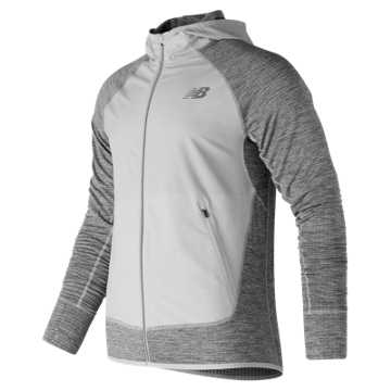 New Balance NB Heat Run Jacket, Arctic Fox