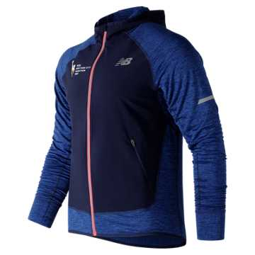 New Balance NYC Marathon NB Heat Run Jacket, Team Royal Heather