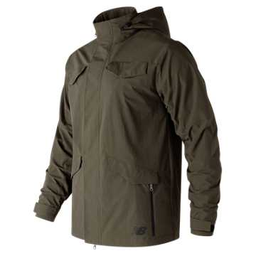New Balance 247 Luxe Tech M65 Jacket, Military Dark Triumph