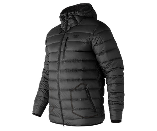 7bf9f0e287693 New Balance 247 Luxe Down Jacket, Black