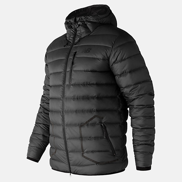 New Balance 247 Luxe Down Jacket, MJ73548BK