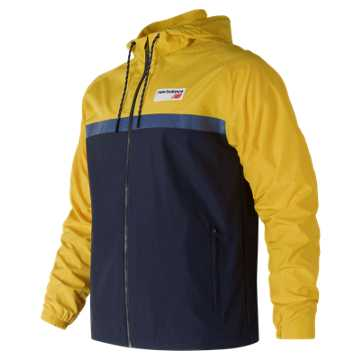 New Balance NB Athletics 78 Jacket, Atomic Yellow