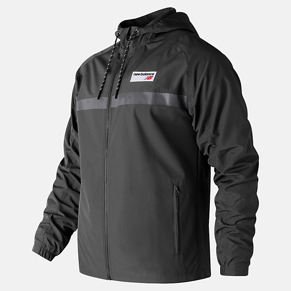 New Balance NB Athletics 78 Jacket, MJ73557BK