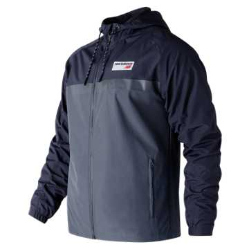 New Balance NB Athletics 78 Jacket, Dark Cyclone