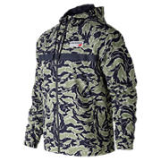 New Balance NB Athletics 78 Jacket, Camo Green