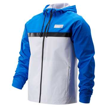 New Balance NB Athletics 78 Jacket, Vivid Cobalt with White & Black