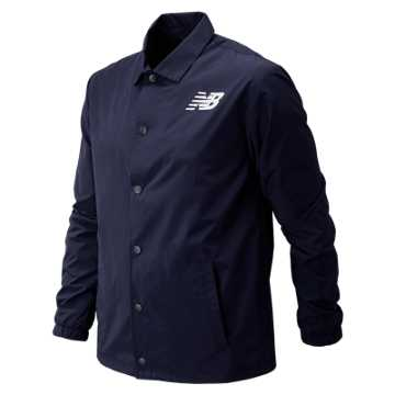 New Balance Boston Classic Coaches Jacket, Pigment