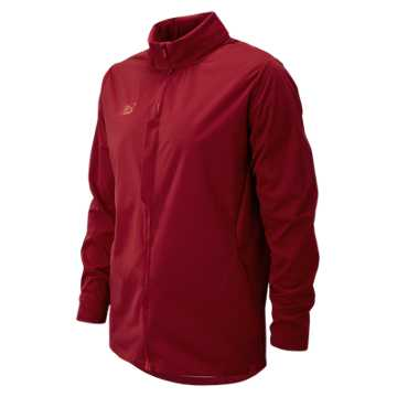 New Balance Elite Tech Training Rain Jacket, Scarlet