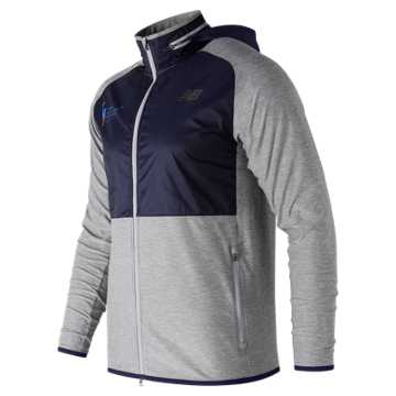 New Balance NYC Marathon Anticipate Finisher Half Zip, Athletic Grey