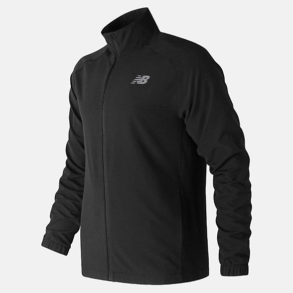 New Balance Tenacity Woven Jacket, MJ81088BK