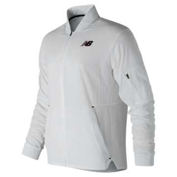 New Balance Energy Jacket, White