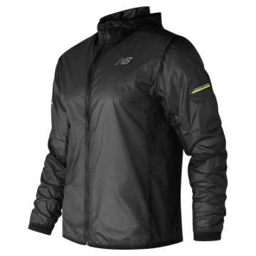 New Balance Ultra Light Packable Jacket, Black