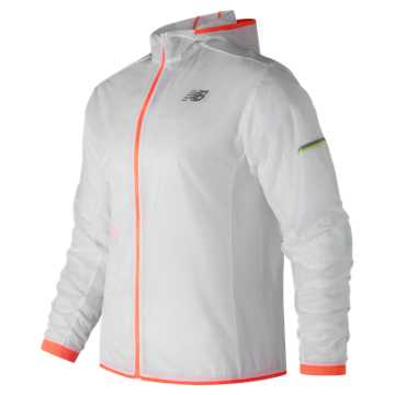 New Balance Ultra Light Packable Jacket, White