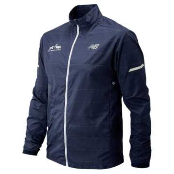 New Balance Run for Life Reflective Packable Jacket, Pigment